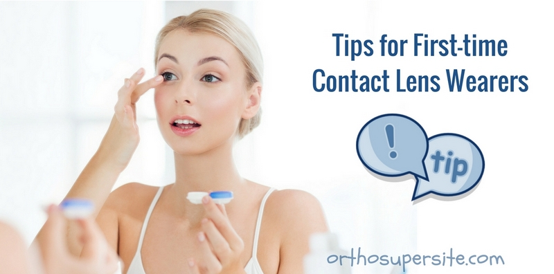 Tips for First-time Contact Lens Wearers
