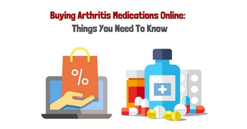 Buying Arthritis Medications Online